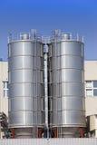 De chemische fabriek Rusland Royalty-vrije Stock Foto