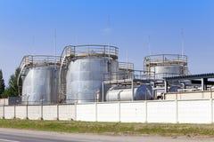 De chemische fabriek Rusland Stock Foto