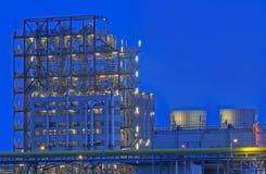 De chemische Faciliteit van de Productie Stock Afbeeldingen