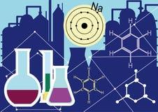 De chemische industrie Stock Foto's