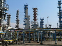 De chemische industrie stock foto