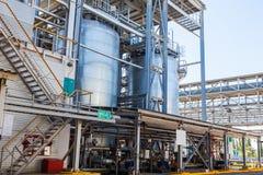 De chemische productie van de tankopslag van rubber royalty-vrije stock foto's