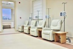 De chemotherapieruimte van de kankerbehandeling Royalty-vrije Stock Afbeelding