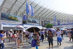 17de Chengdu-Motorshow Stock Foto's