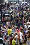 17de Chengdu-Motorshow Stock Foto