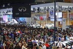 17de Chengdu-Motorshow Stock Afbeeldingen