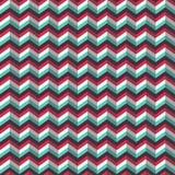 De chevron stileerde geometrisch patroon Stock Foto's