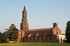 De Chiaravalle Abdij, Italië stock foto's