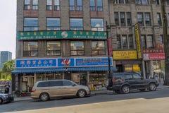 De Chinatown Chineescomplexe van Montreal Stock Foto's