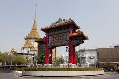 De Chinatown van Bangkok stock afbeelding