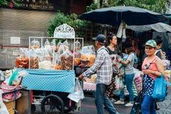 De Chinatown van Bangkok Stock Foto