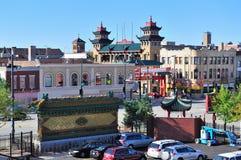 De Chinatown van Chicago Stock Afbeelding