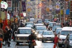 De Chinatown van de Stad van New York Stock Afbeelding