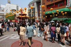 De Chinatown van Kobe Stock Afbeelding