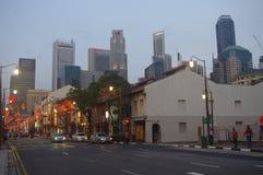 De Chinatown van Singapore Royalty-vrije Stock Afbeeldingen