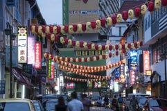 De Chinatown van Singapore Stock Fotografie