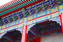 De Chinese architectuur Stock Foto's