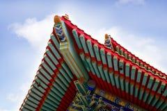 De Chinese architectuur Stock Fotografie