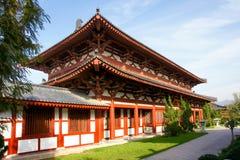 De Chinese architectuur van de Dynastie van het Zweempje royalty-vrije stock foto's