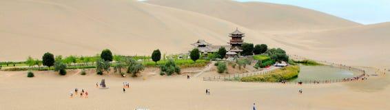 De Toenemende Lente van China Dunhuang Stock Afbeelding