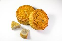 De Chinese Cakes van de Maan Stock Afbeeldingen