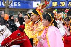 De Chinese Dag van het Nieuwjaar Stock Foto's