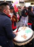 De Chinese Dag van het Nieuwjaar Stock Fotografie