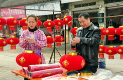 De Chinese Decoratie 2013 van het Nieuwjaar Stock Afbeeldingen