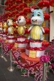 De Chinese decoratie van de Dierenriem Stock Afbeeldingen
