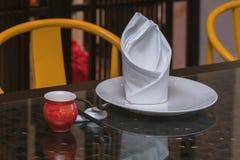 De Chinese decoratie van de dinerlijst Royalty-vrije Stock Fotografie