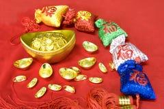 De Chinese decoratie van het Nieuwjaar Royalty-vrije Stock Afbeeldingen