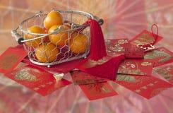 De Chinese Decoratie van het Nieuwjaar Royalty-vrije Stock Foto