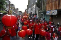 DE CHINESE DEMOGRAFIE VAN INDONESIË Stock Afbeeldingen