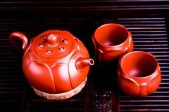 De Chinese die theekopjes in Stad van Yixing worden geproduceerd royalty-vrije stock foto's