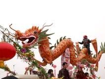 De Chinese draak Stock Foto's