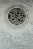 De Chinese draak van de muurtextuur Royalty-vrije Stock Foto's