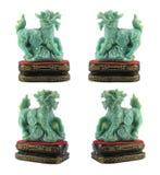 De Chinese Heilige Dieren van de jade Stock Foto