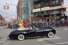 De Chinese het Nieuwjaarviering van 2014 in NYC 3 Stock Foto's