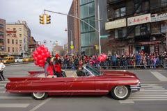 De Chinese het Nieuwjaarviering van 2014 in NYC 6 Royalty-vrije Stock Afbeeldingen