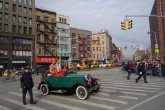 De Chinese het Nieuwjaarviering van 2014 in NYC 7 Stock Foto