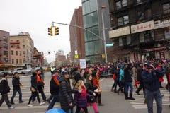 De Chinese het Nieuwjaarviering van 2014 in NYC 48 Stock Fotografie