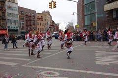 De Chinese het Nieuwjaarviering van 2014 in NYC 69 Royalty-vrije Stock Foto's