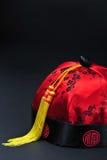 De Chinese Hoed van het Nieuwjaar. Stock Afbeelding
