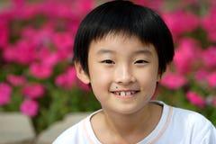 de Chinese kinderen glimlachen royalty-vrije stock fotografie