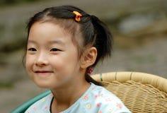 de Chinese kinderen glimlachen royalty-vrije stock afbeeldingen