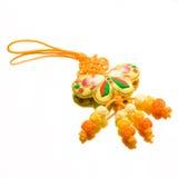 De Chinese Knoop van de Vlinder Stock Afbeelding
