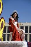 De Chinese Koningin van de Chinatown van de Parade van het Nieuwjaar Royalty-vrije Stock Afbeeldingen
