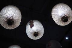 De Chinese lamp kijkt aardig en klassiek stock afbeeldingen