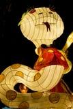 De Chinese Lantaarn van de Dierenriem van de Slang Dierlijke Stock Foto's
