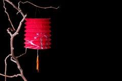 De Chinese Lantaarn van het Document stock afbeeldingen